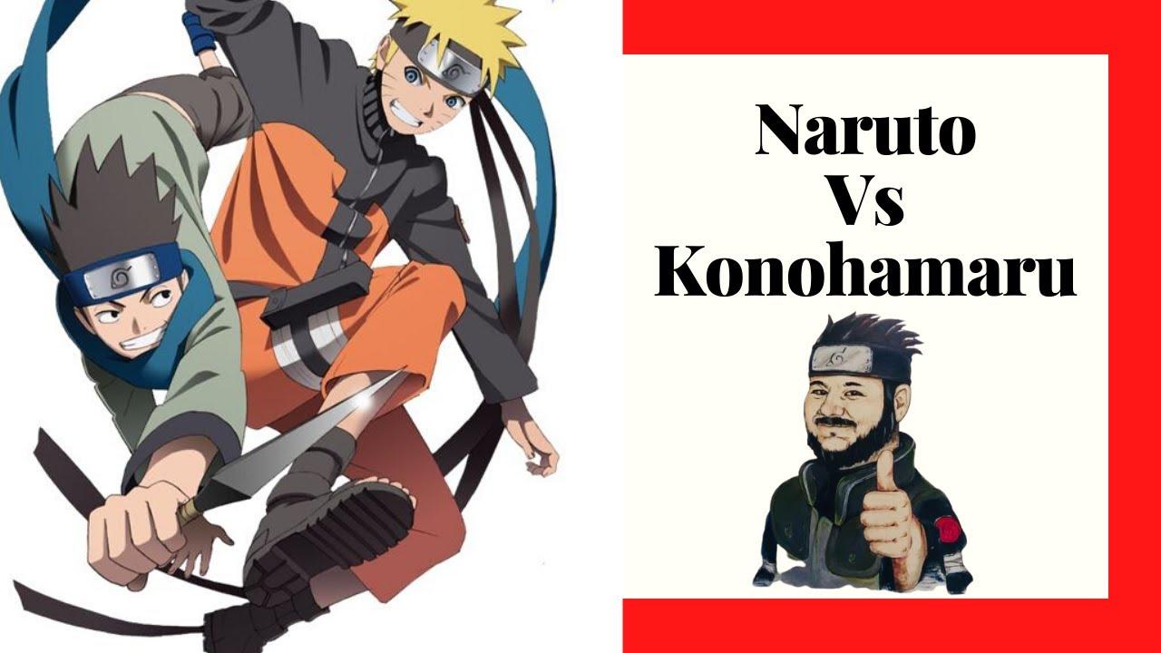 NARUTO VS KONOHAMARU - YouTube