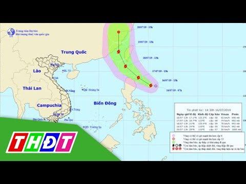 Ứng Phó Bão Gần Biển Đông | THDT