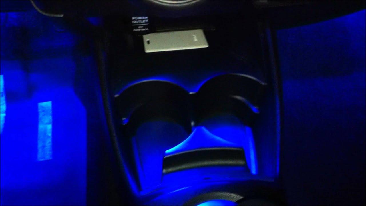 Used Honda Odyssey Parts 2010 Honda Fit - Interior LEDs (footwells & cup holder area) - Oznium ...