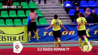 PL TV: Raido Romani iluvärav toob Viljandi Tulevikule 3 võidupunkti