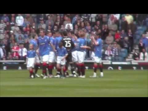 Rangers Vs Hearts - 3 May 2009 - Velicka's Goal