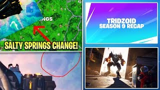 Fortnite Update: SALTY BECOMES A LAKE, B.R.U.T.E NERF, CUSTOM Recap Video, Galaxy Skin, & MORE