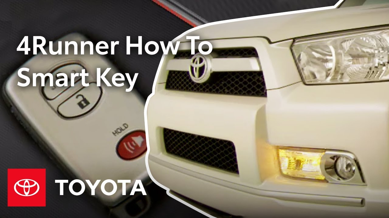 2010 4Runner How-To: Smart Key | Toyota