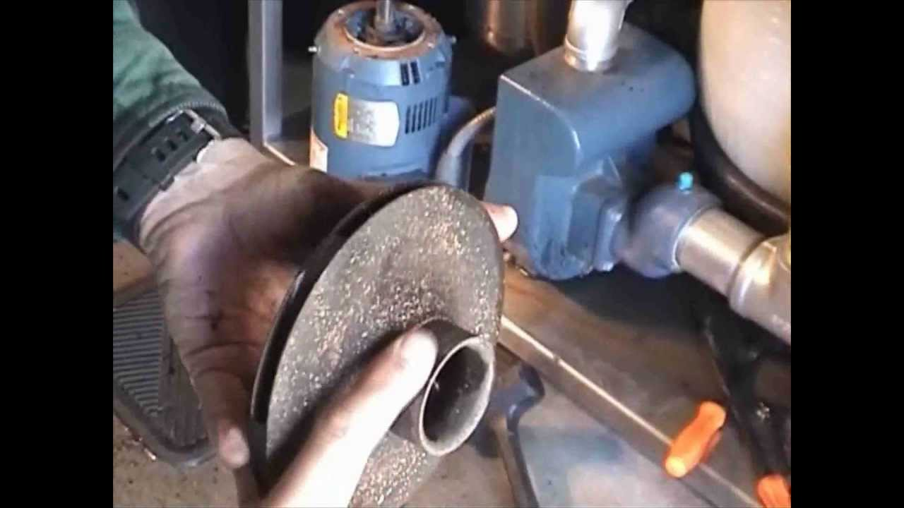 Pump Seal Replacement Part 1 Flv Youtube