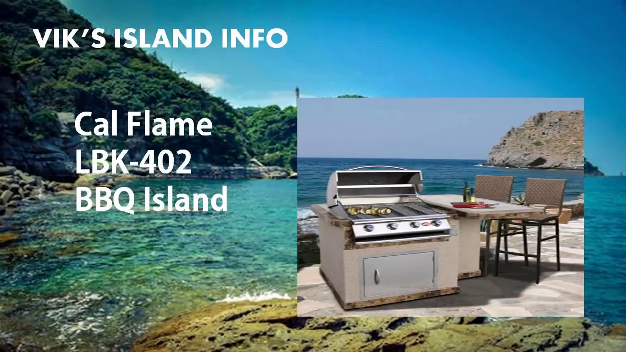 Cal Flame LBK-402 Outdoor Kitchen Island Review - YouTube
