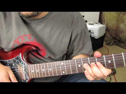 How to Play the Solo From November Rain part 1- Guns n Roses - Slash tutorial