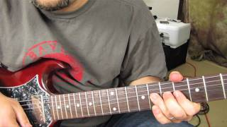 How to Play the Solo From November Rain part 1- Guns n Roses - Slash tutorial