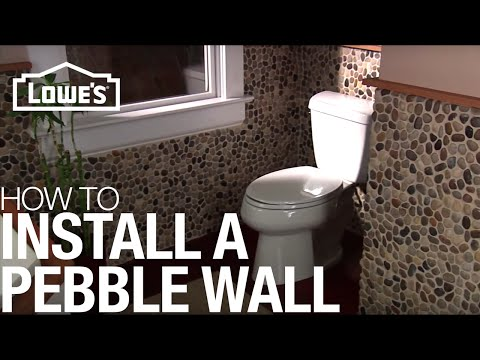 install-a-pebble-tile-accent-wall:-installation