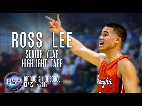 |2016| Ross Lee - Point Guard - Burroughs HS - Senior Year Highlight Tape
