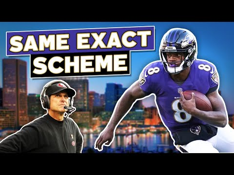 Lamar Jackson is destroying defenses with the 2012 49ers Offensive scheme