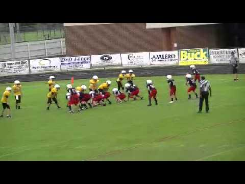 plainview football 6th grade woods flip
