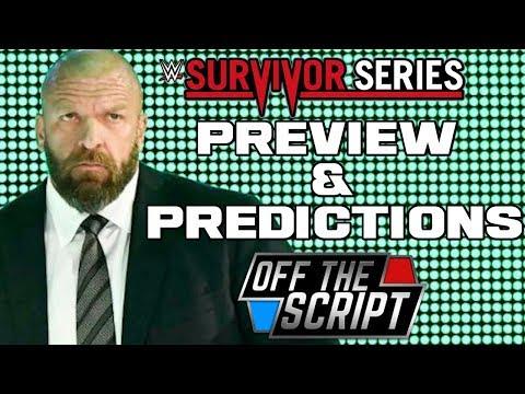 RAW VS SMACKDOWN! WWE Survivor Series 2017 Predictions - Off The Script #196 Part 2
