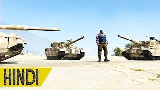 Thanos Vs Military Base in GTA 5 - HINDI/URDU