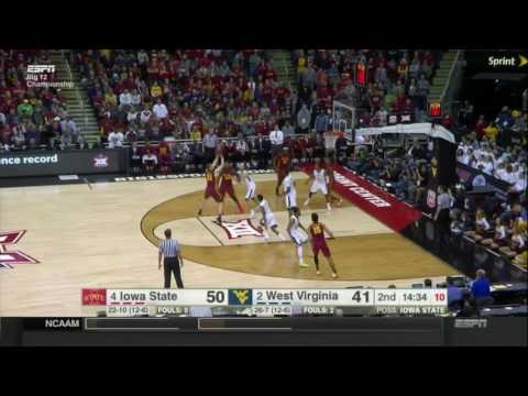 Iowa State 80, West Virginia 74 (Big 12 Championship)