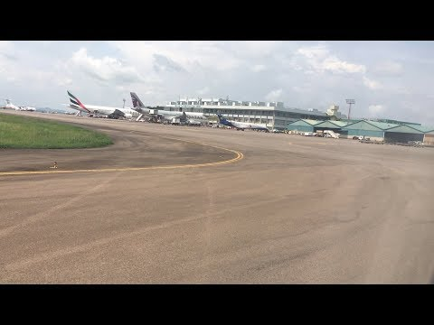 Approach and Landing At Entebbe Airport