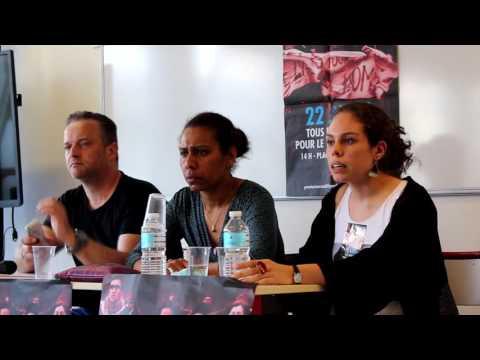Meeting pour le premier tour social - 29 mars 2017 - Université Paris 3