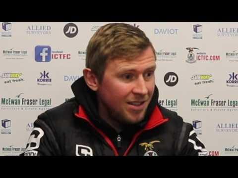 CaleyJagsTV : Richie Foran Match Preview v Elgin City : 19/01/17