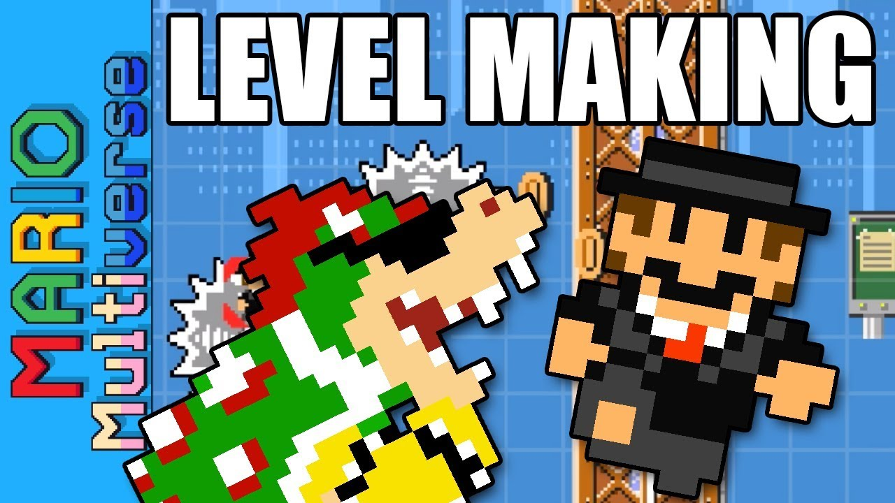 Mario Multiverse Level Making - Mario's Hectic Day