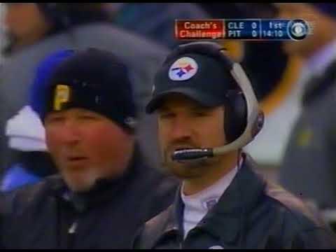 2002 Wild Card Browns @ Steelers