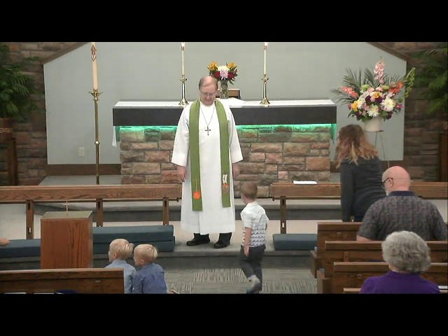 9/1/2019 Sunday Worship Service 8am