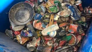 TC Recycling - Lattine e vetro - Molino Verticale a Densità Variabile