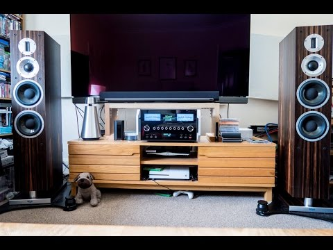 ProAc K6 Speakers with McIntosh Labs MA8000 Integrated Amplifier