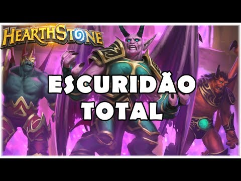 HEARTHSTONE - ESCURIDÃO TOTAL! (WILD DARKEST WARLOCK)