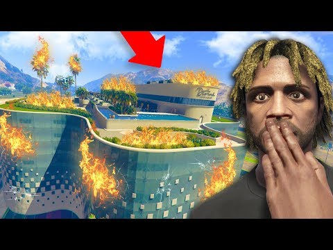 WE ACCIDENTALLY LIT THE CASINO ON FIRE! | GTA 5 THUG #283