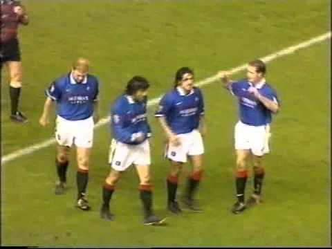 Rangers 3 St Johnstone 2 SPL 29th November 1997