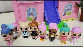 Мультик Куклы LOL играют в прятки и трапапуська