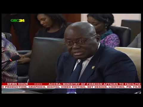 FLAGSTAFF HOUSE: President Akufo Addo meets leaders of Togo's opposition parties