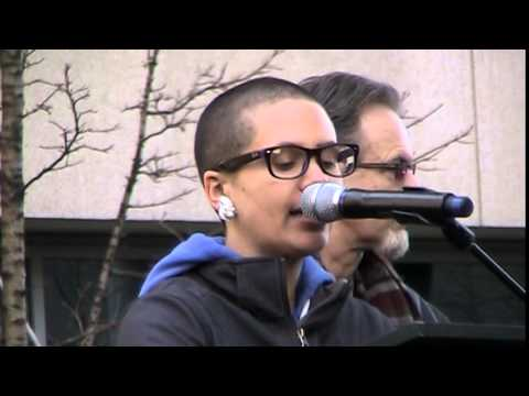 Sarah Scott for Freedom Socialist Party and Radical Women - MLK 2015