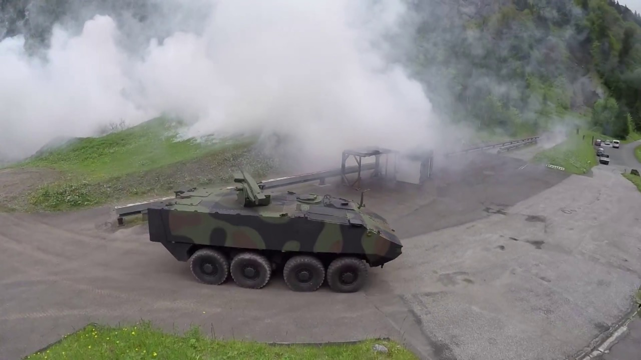 Download Rheinmetall Fieldranger weapon station with ROSY protection system