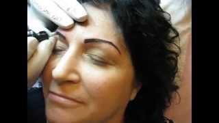 Tatuaj sprancene Zarescu Dan 0745001236 ZDM tatuaje temporare sprancene http://www.machiajtatuaj.ro