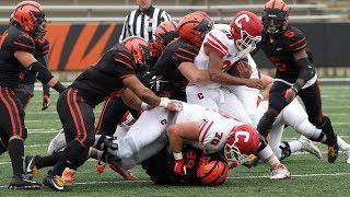 Highlights: Football vs. Cornell - 10/27/18