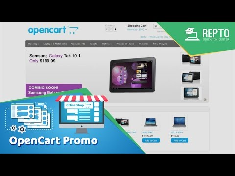 REPTO - Professional e-Commerce website with Open Cart Bangla Tutorial | Promo Video 01