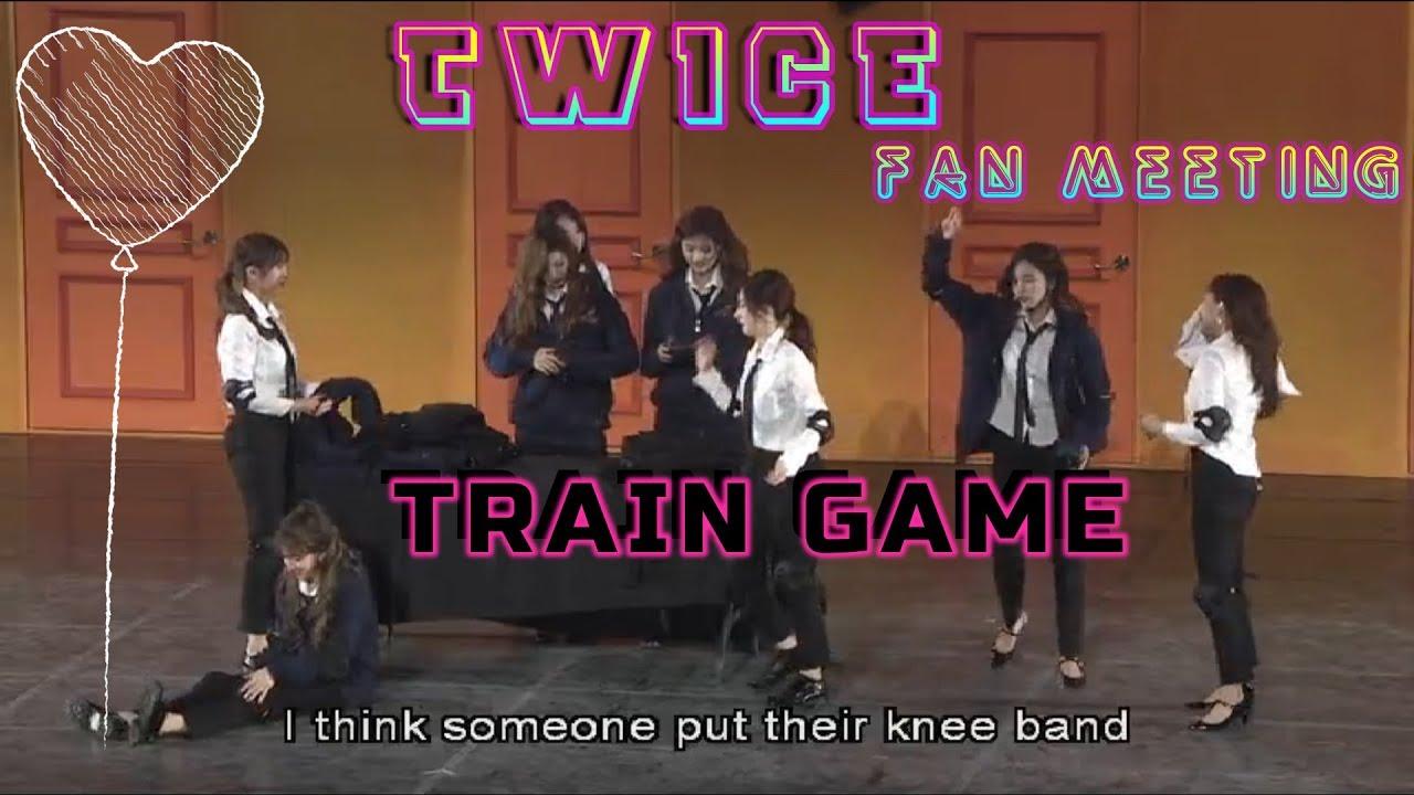 [171015] TWICE Train Game @Fan Meeting