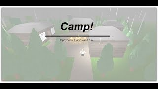 ROBLOX - France Bienvenue à Bloxburg: Camp (62k)
