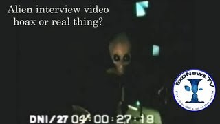 ExoNews  -- Alien interview video: hoax or real thing?  (S01E09)