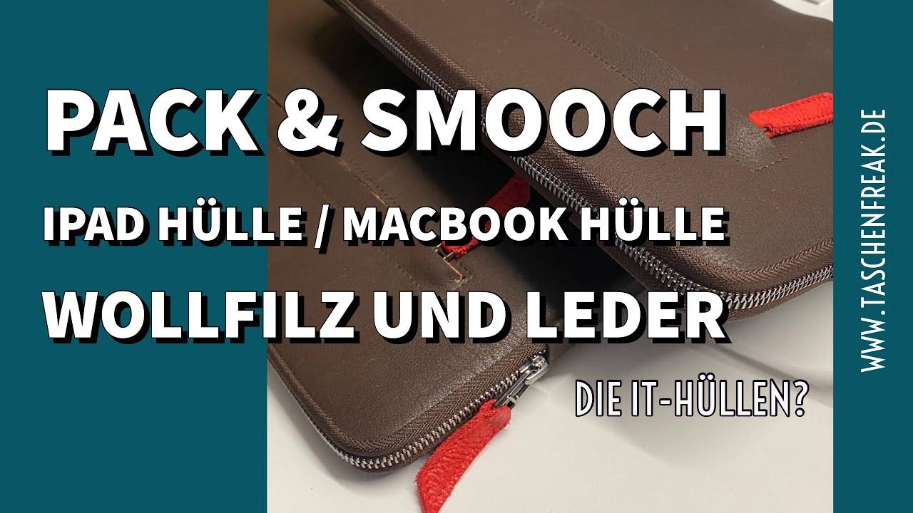 Download Gibt es DIE perfekten IT-Hüllen? Vorstellung - Pack and Smooch -  IPad und Macbook Pro Hülle