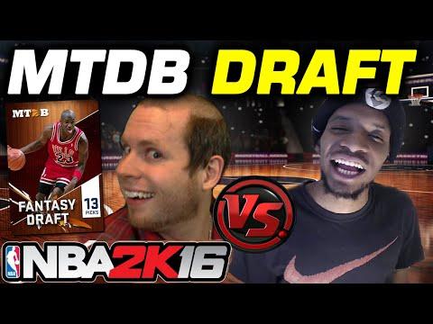 NBA 2K16 MTDB Draft vs OSN