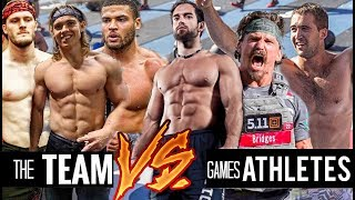 The TEAM vs CROSSFIT GAMES ATHLETES (Crossfit Open 18.1)