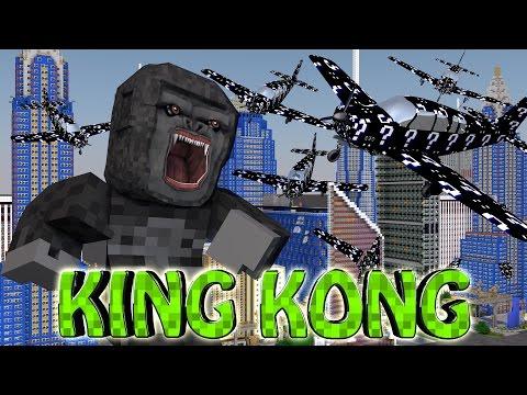Minecraft | BLACK LUCKY BLOCKS KING KONG BOSS CHALLENGE!