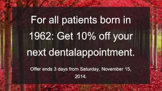 Cosmetic Dentistry Update - Saturday, November 15, 2014 from Oakridge Dental Thumbnail