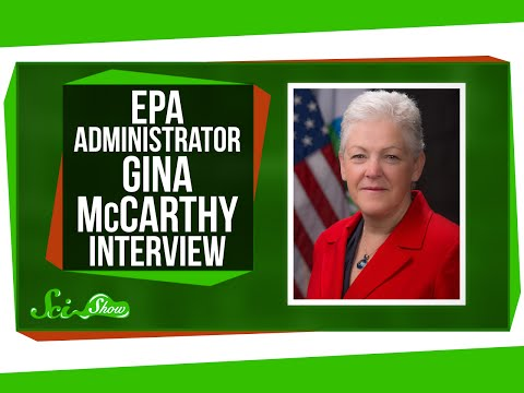 Interview with EPA Administrator McCarthy
