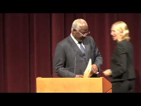 Dr. Ernest Bai Koroma, President of Sierra Leone Speaks at Notre Dame