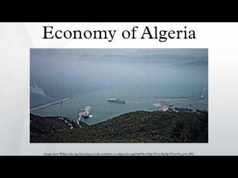 Economy of Algeria