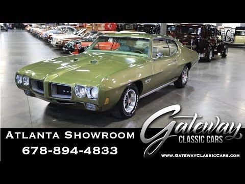 1970 Pontiac GTO - Gateway Classic Cars Of Atlanta #1062