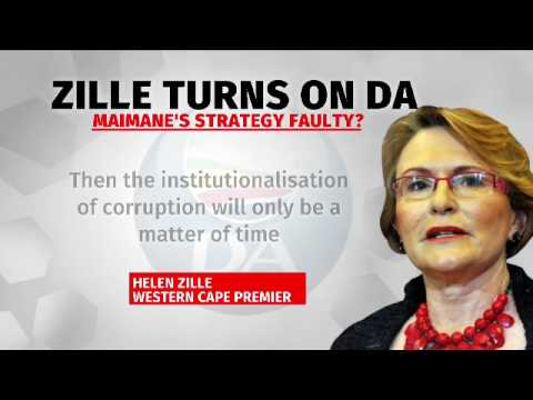 Helen Zille trains gun at own party
