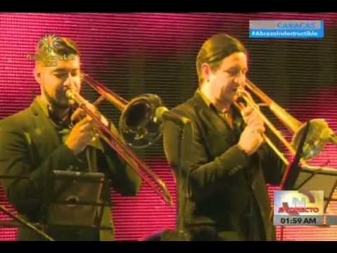 """Tito Rojas """"El Gallo"""" en el Concierto de fin de año en Caracas"""